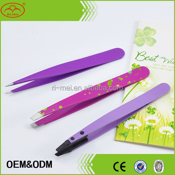 Free sample cosmetic makeup tool eyebrow tweezer