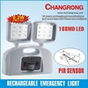 CR-7004M Rechargeable PIR sensor emergency channel light
