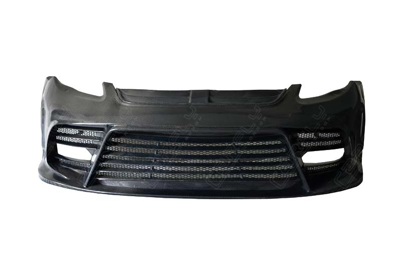 Full Carbon Fiber Mansori Style Double Exhaust Body Kits Hood Side Skirt Front Bumper For Panamera 970