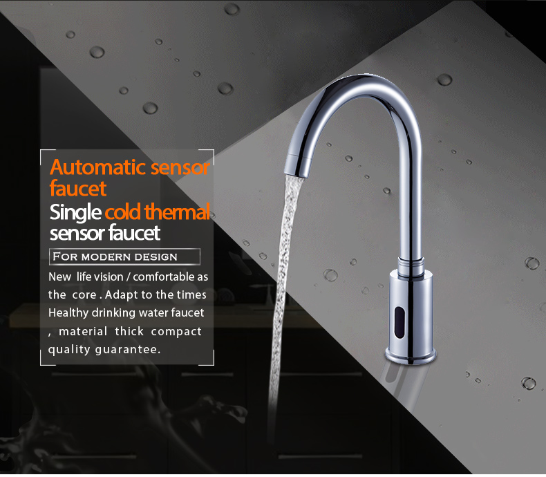 High quality automatic touch sensor kitchen faucet wholesale