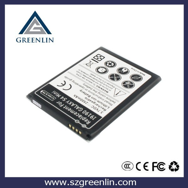 high quality battery compatible for Samsung Galaxy S4 mini