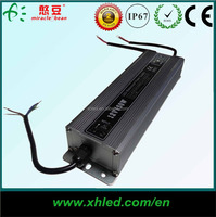 CE ROHS Approved LED IP67 AC To DC 12V waterproof led switching power supply with 2 years warranty