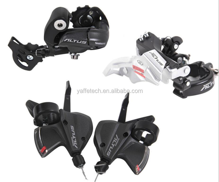 bicycle derailleur parts, derailleur Group Sets 3 in 1 include bicycle shifting lever, rear/front derailleur