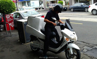 4000W cargo electric motorcycle for fleet market