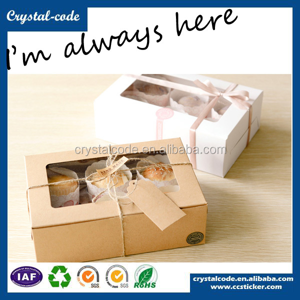Hot sale Matt Lamination luxury cookies box paper packaging