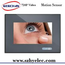 Hot sell 7 inch display digital advertising video bus lcd ad player with sd for promotion sale