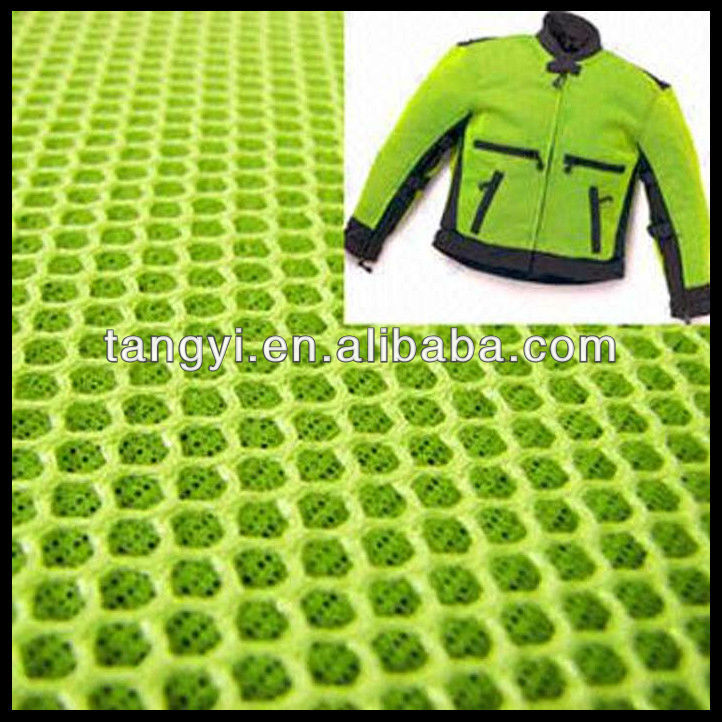 hot sale polyester air mesh fabric for shoes and suitcase