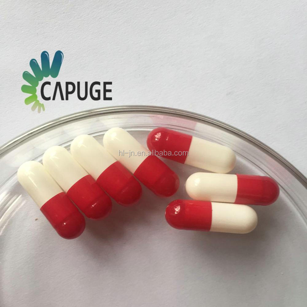 Empty capsules pearl color for the Nutraceutical industry