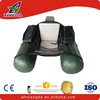Single inflatable bellyboat fishing pvc pontoon boat