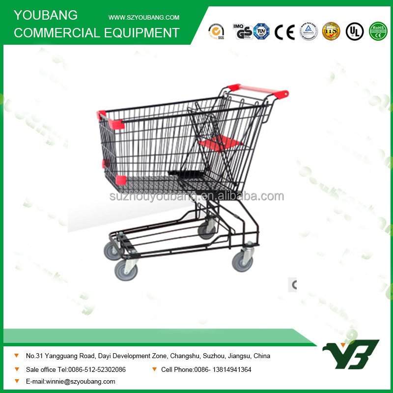 Japanese style 60liter - 240 liter shopping trolley cart