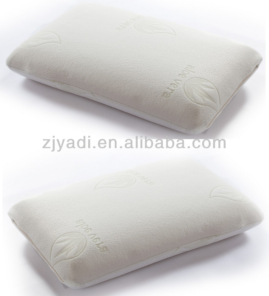 Knitted Fabric Air Layer Traditional Shaped Memory Foam Pillow,Bread Shaped, Normal Shaped, Contour Pillow