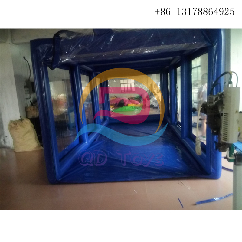 Free customized size color inflatable motorcycle bike tent car cover booth airtight pvc inflatable showcase