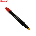 Free sample Customize Chisel point fake note detector pen with video demo suitable for promotion