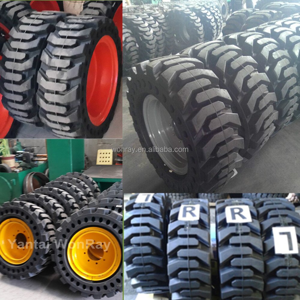 container load used tires, China cheap bobcat skid steer tire 23x8.5-12 10-16.5 12-16.5 with REACH certificate