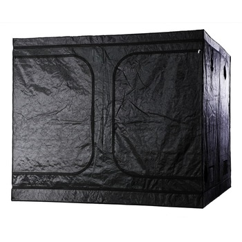 "96""x96""x78"" Hydroponic Indoor Grow Tent w/Plastic Corner for Plant Growing"