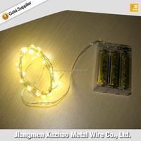 china wholesale custom christmas tree shape led mini copper string lights