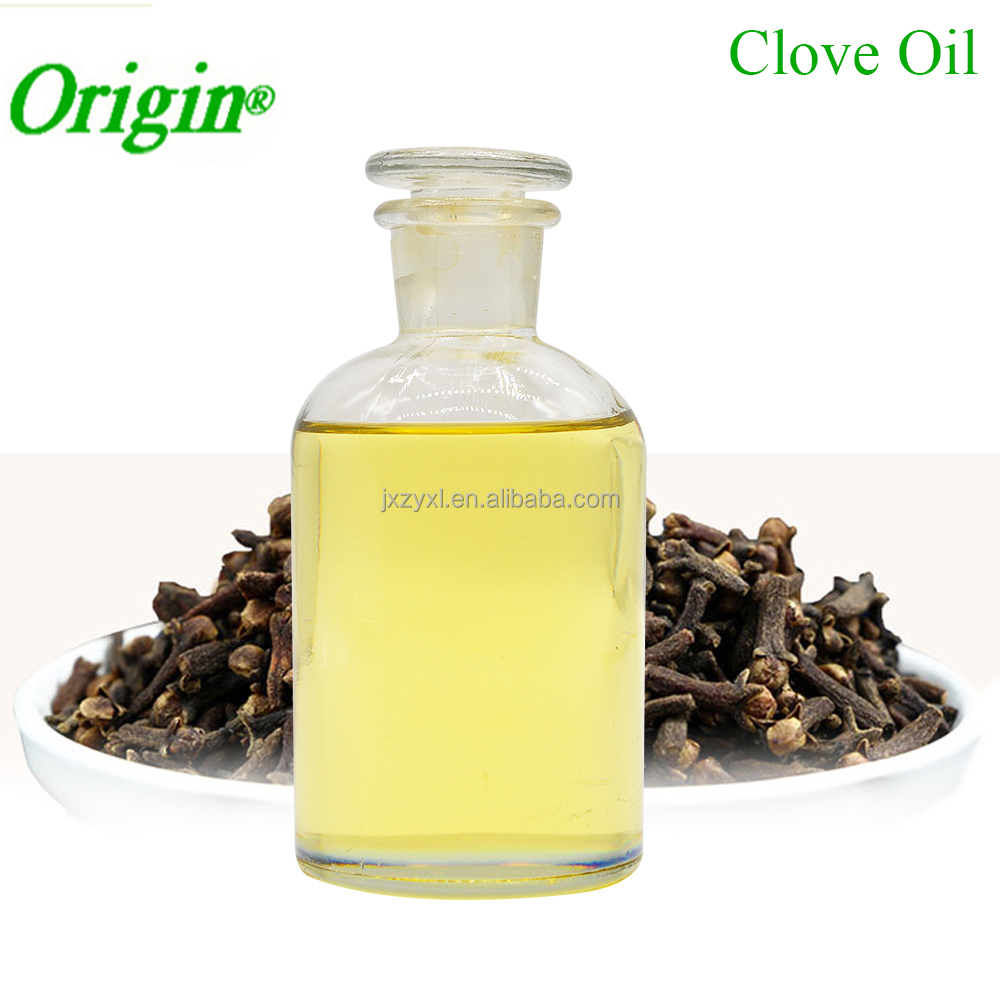 Free Sample100% Natural Organic Essential Oil Fragrance and Flavors Clove Bud Oil Extraction 85% Eugenol Clove Leaf Oil Bulk