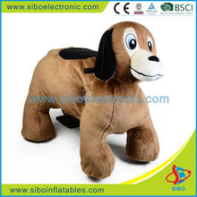 GM59 electric kart mechanical games manufacturers plush toy dog