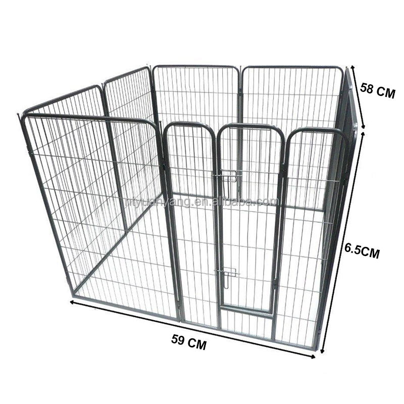 8 Panel Medium Heavy Duty Dog Cage Pet puppy play pen