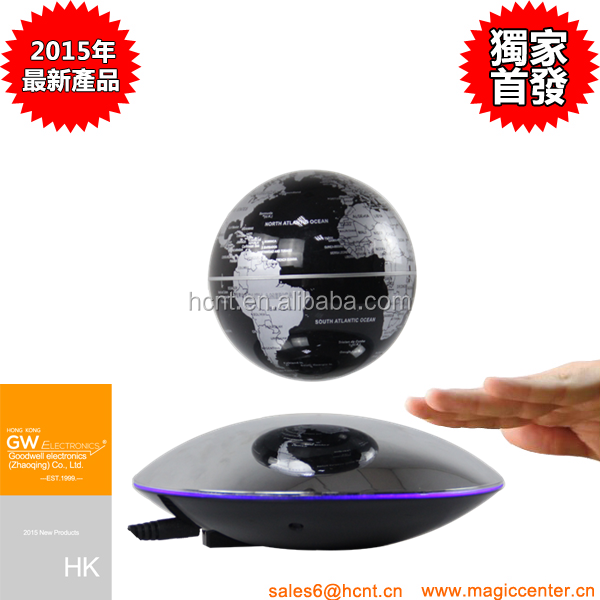 HCNT's Electronic Magnetic Levitation Floating Globe Antigravity ball for Birthday Gift Xmas Decoration