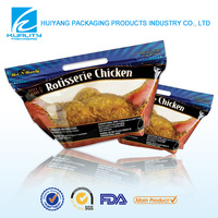 Hot roast chicken food packaging bag