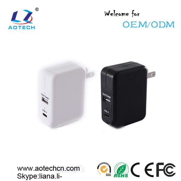 Qualcomm quick charge qc 3.0 USB C Wall Charger