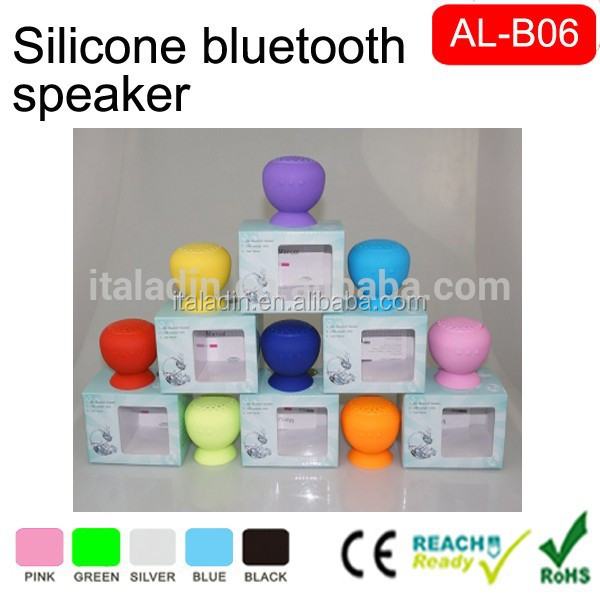 2015 new products Wireless Waterproof bluetooth Shower Speakers,cheap speaker stands