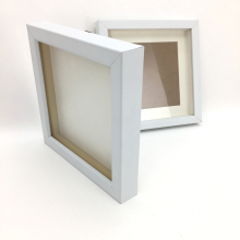 White Photo Frame Shadow Box Frames Wholesale 10x10