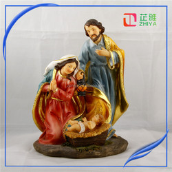 christian products wholesale Jesus Family statue