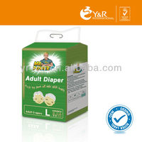 Cheap oem ultra thick adult diaper in China