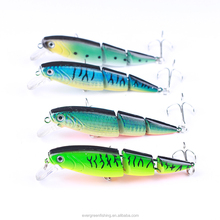 New Products 2018 3 Section 10cm 16g Minnow Plastic Hard Multi Jointed Fishing Lure