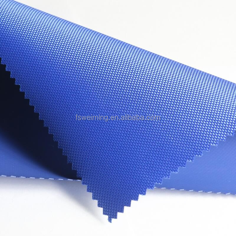 Polyester PVC Coated Oxford Fabric, High Quality Polyester 1680D PVC coating oxford fabric