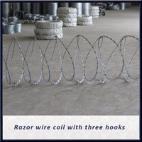 Barbed wire coil /Electro and Galvanized GI /CBT & BTO