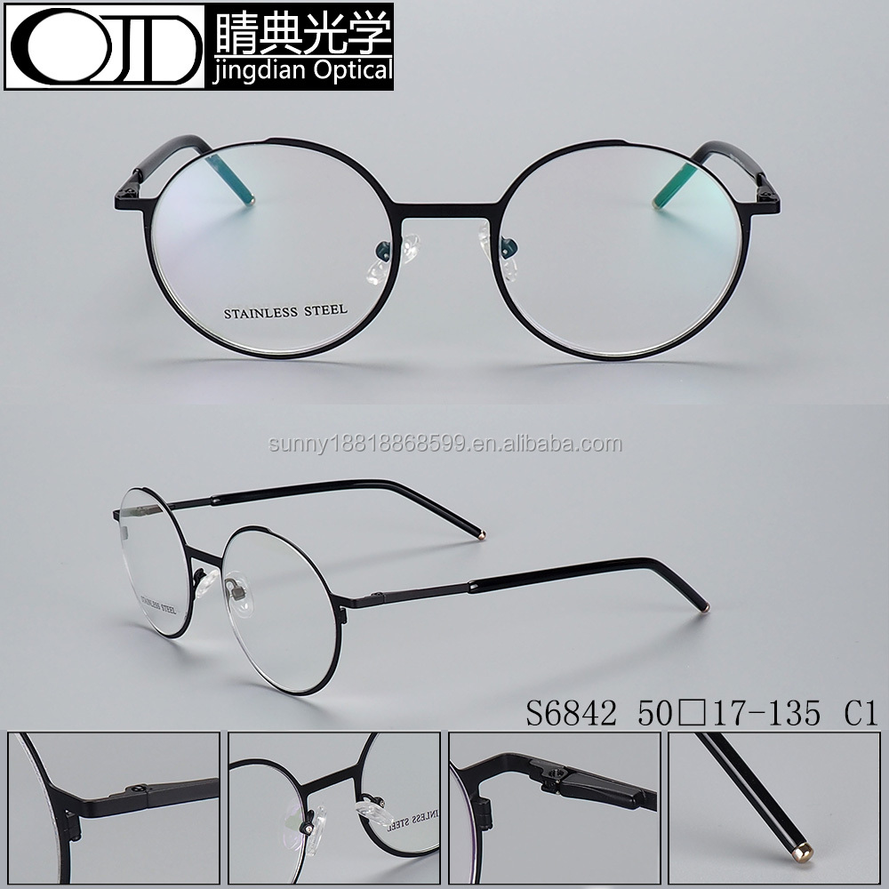 Fashion Round Optical Prescription Glasses Frame and fashionable Eyewear optical Frame S6842