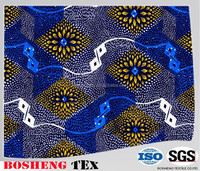 Popular 100% polyester Super African Printed Fabric,Cheap African Fabric hot sell