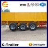 3Axles 45Tons 13m High Quality Cargo Box Trailer