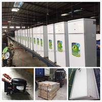 Multifunctional easy install 92L 118L 142L 158L solar refrigerator / freezer / fridge set for Africa / Middle East