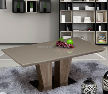 hot selling Waiting Room Stainless Steel Base Mdf Tea Coffee Table Set