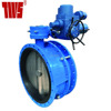 Rotork Regulating type Electric Actuated Double Flange Expansion Butterfly Valve