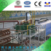 New cooling system used tyre recycling plant to fuel oil