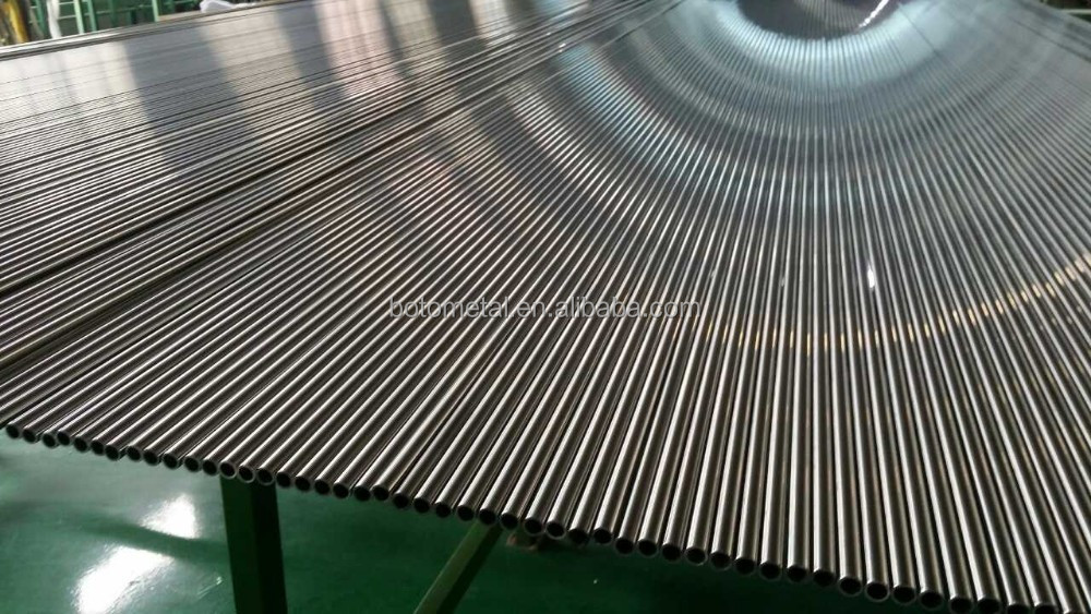 stainless steel seamless pipe and tube with bright annealed