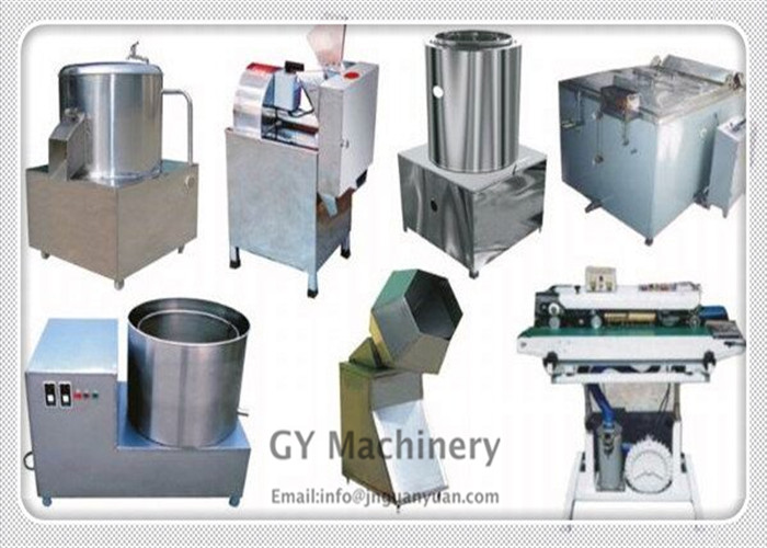Low price high quality semi-automatic machine to make potato chips for industrial