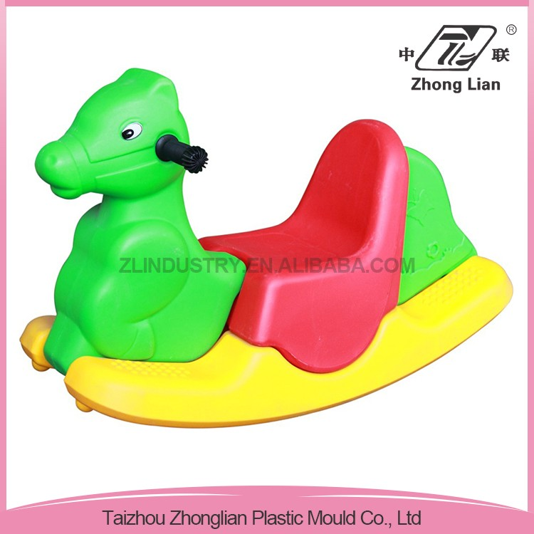 High quality outdoor cheap animal funny PE plastic rocking toys