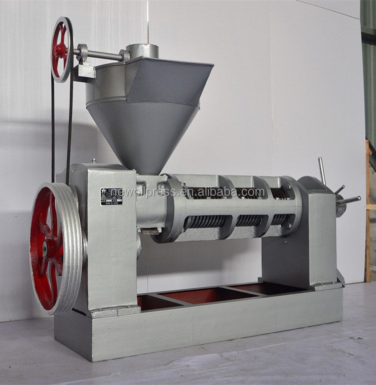 Larger capacity cold and hot press oil press machine