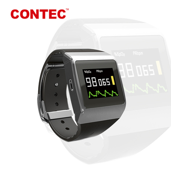Real China medical manufacturer CONTEC CMS50K ecg smart watch