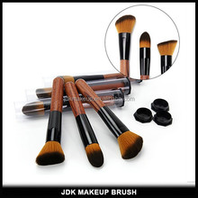 3PCS Rosewood Handle Private Label Kabuki Brush Set