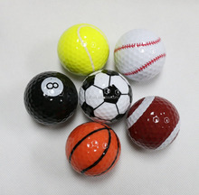 2017 Novelty and Funny Sport Golf Ball 6 pack gift set