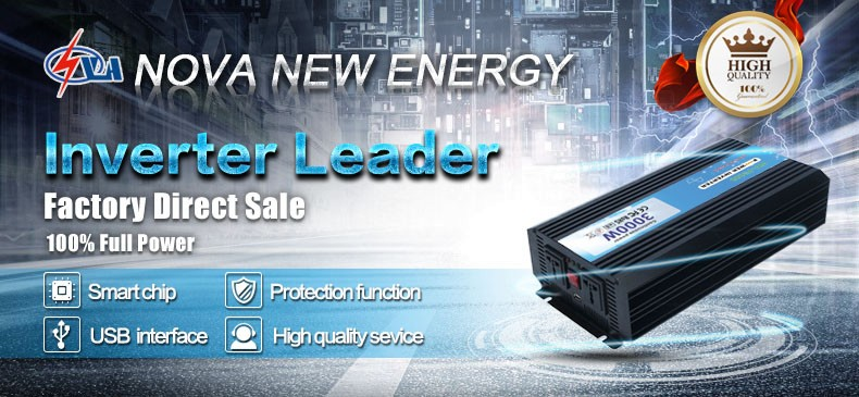 Factory direct solar dc ac power inverter 3000w