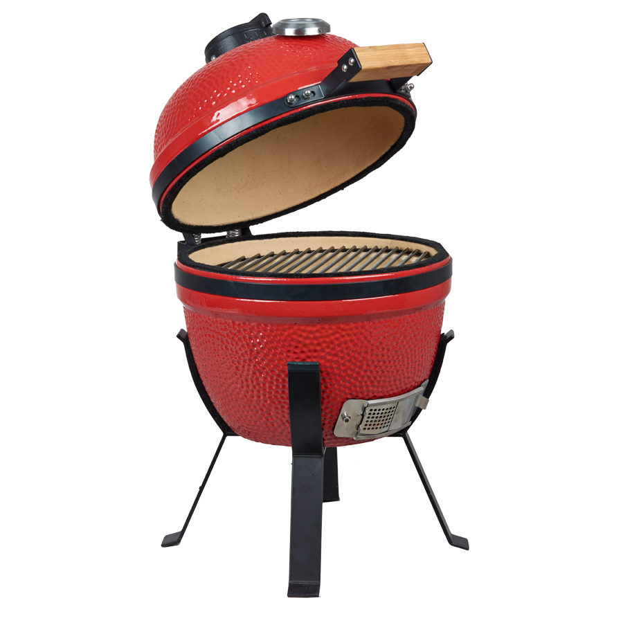 indoor rotisserie mini ceramic bbq smoker charcoal grill. Black Bedroom Furniture Sets. Home Design Ideas