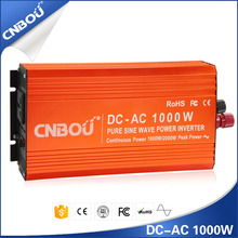 DC to AC 12v 220v 1000w car power inverters